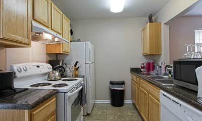 Kitchen, Palmer Court Townhomes, 1
