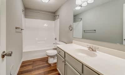 Bathroom, The Summit Townhomes, 2