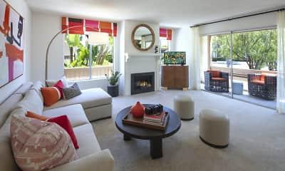 Living Room, Rancho San Joaquin, 0