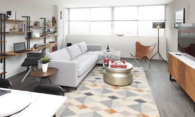 Living Room, Scio at The Medical District, 1