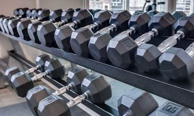 Fitness Weight Room, Grayhawk at River's Edge, 1