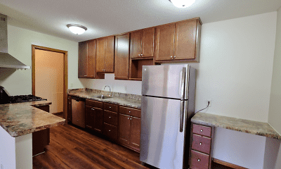Kitchen, King's Highway Apartments, 0
