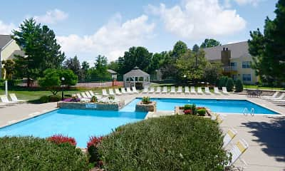 Pool, Country Club Place, 1