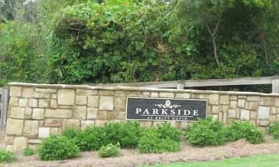 Community Signage, Parkside/Parkview at Britt David, 2