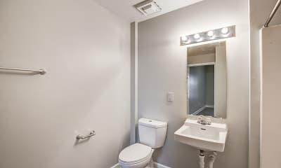 Bathroom, Crogman School Lofts Apartments, 2