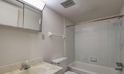 Bathroom, Broadway Apartments, 2