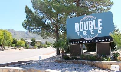 Community Signage, Double Tree, 0