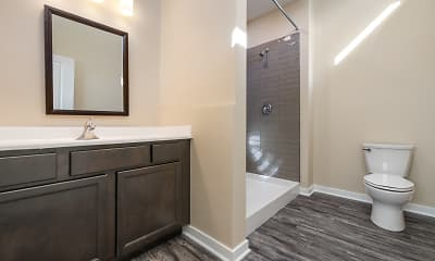 Bathroom, Artisan Apartments, 2