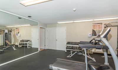 Fitness Weight Room, Quail Run Of Columbus, 2