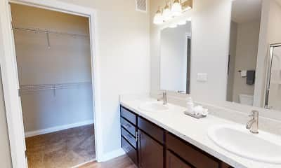 Bathroom, Graceland Flats, 2