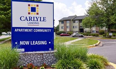 Community Signage, Carlyle Landing, 1