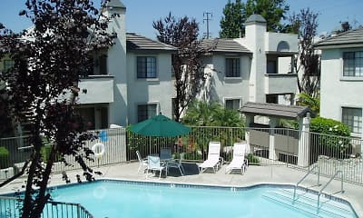 Pool, Casablanca Apartments, 0