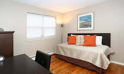 Bedroom, Scott Gardens Apartments, 2