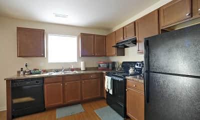 Kitchen, Kinway Apartments, 1