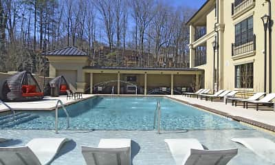 Pool, Residences at Chastain, 0