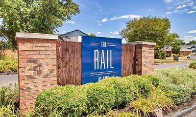 Community Signage, The Rail at 1380, 1
