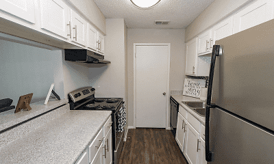 Kitchen, Summit Apartments, 2