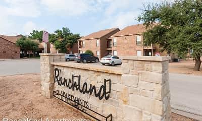 Community Signage, Ranchland Apartments, 2