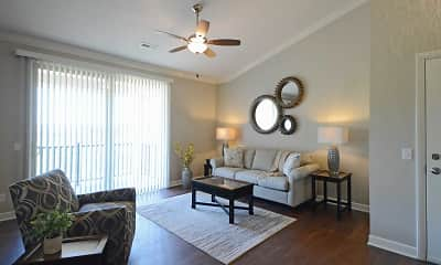 Living Room, The Reserve at Green Luxury Apartments, 0