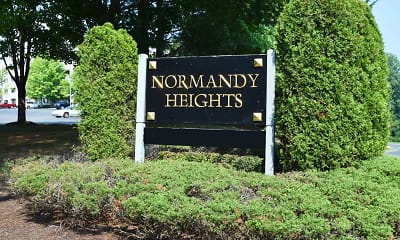 Community Signage, Normandy Heights, 2