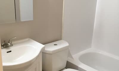 Bathroom, Stoney Creek Apartments, 2