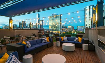 Patio / Deck, Infinity Lofts in the Gulch, 2