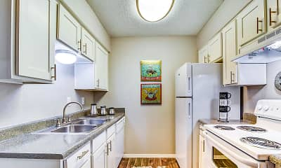 Kitchen, Alpine Creek Apartments, 1