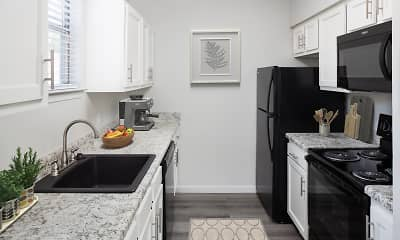 Kitchen, Canyon Park Apartments, 1
