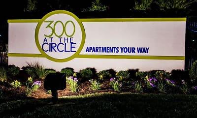 Community Signage, 300 At The Circle, 0