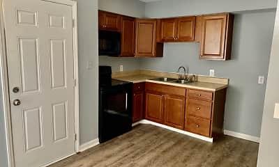 Kitchen, Glenside Apartments, 1