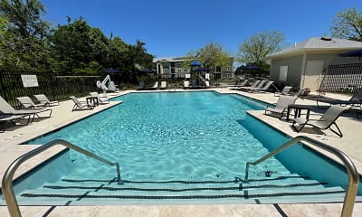 Pool, Brook Pointe Apartments, 1