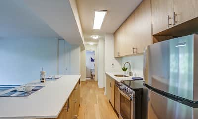 Kitchen, Irvington, 1