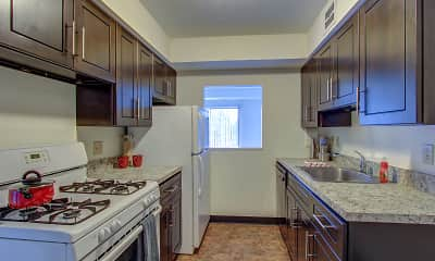Kitchen, Portage Towers, 0