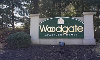 Community Signage, Woodgate, 2