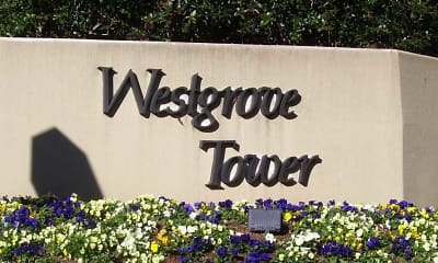 Community Signage, Westgrove Tower, 2