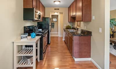Kitchen, Melrose Gates Apartments, 0