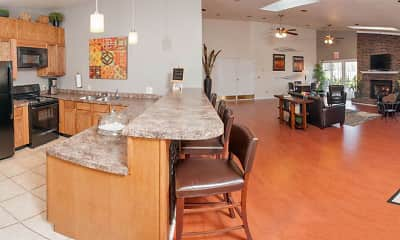 Dining Room, Valley Stream Apartments, 2