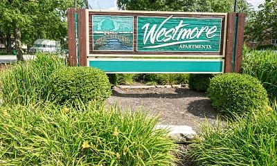 Community Signage, Westmore Apartments, 2