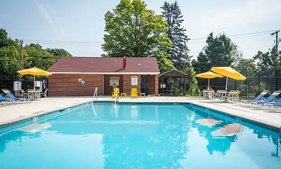 Pool, Colebrook Apartments, 0