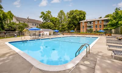 Pool, Lee Square Apartments, 0