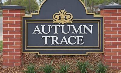Community Signage, Autumn Trace, 2