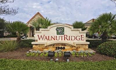 Community Signage, Walnut Ridge Apartments, 2