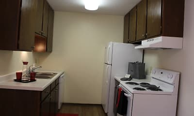 Kitchen, Hidden Valley Apartments, 1