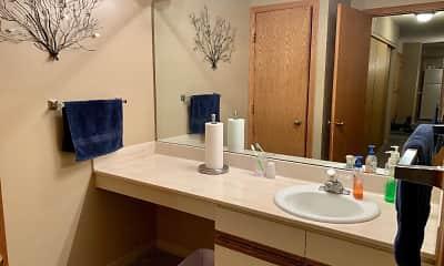 Bathroom, Country Village Apartments, 2