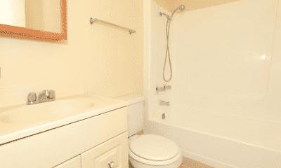 Bathroom, Mission Terrace Apartments, 1