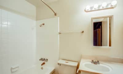 Bathroom, Pine Villa Apartments, 2