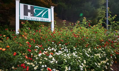 Community Signage, Hickory Hills, 2