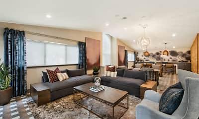 Living Room, Mariners' Glen Apartment Homes, 0