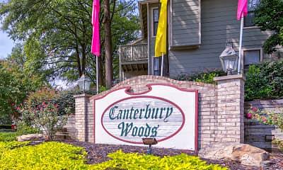 Community Signage, Canterbury Woods, 1