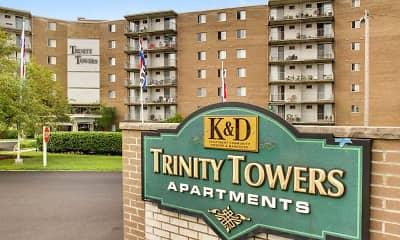 Building, Trinity Towers, 2